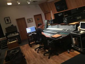 The 27 at Groovemasters Studio Santa Monica